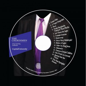 Capital University Chordsmen CD Recorded by Nate Lockwood