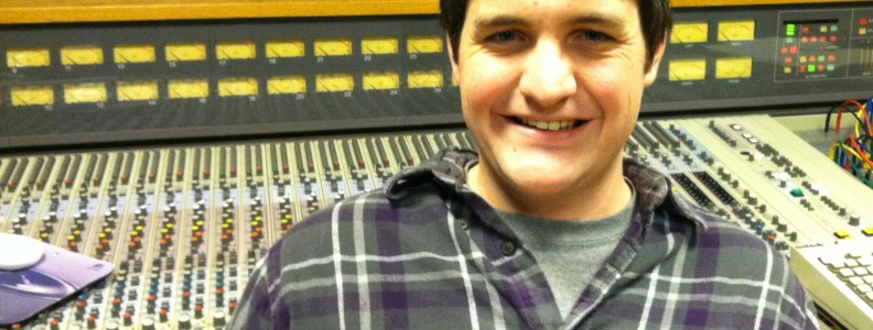 Nate Lockwood at Cleveland Ohio Recording Studio Audio Music Production